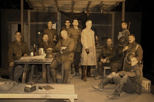 an analysis of the play journeys end by rc sherriff Journey's end by rcsherriff is an incredible play about how the horrifying  conditions in wwi affected men physically and psychologically the audience  really.